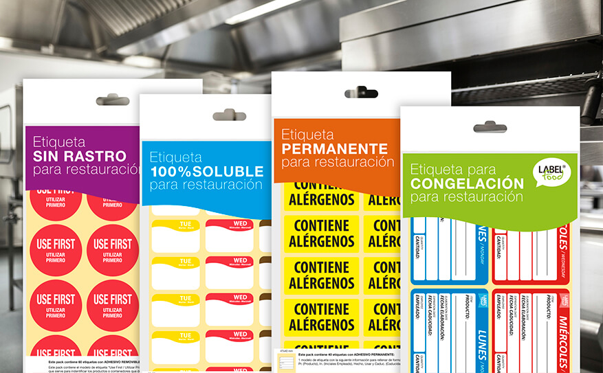 Estrenamos catálogo online de etiquetas para cocina y restauración de Labelfood