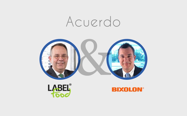 Acuerdo de distribución entre BIXOLON y LABELFOOD