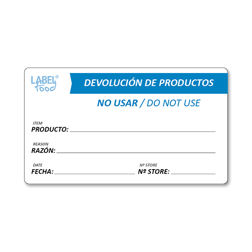 escritura manual devolucion productos