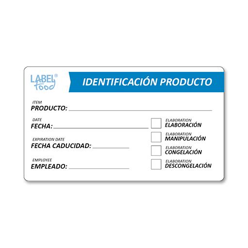escritura manual identificacion producto