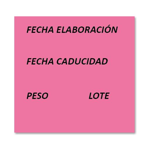 etiquetas fechadora FE0015