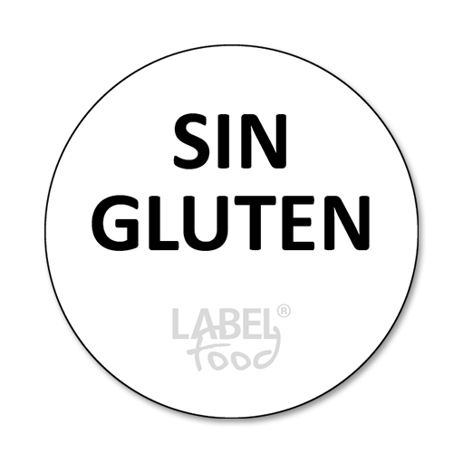 etiquetas impresas sin gluten