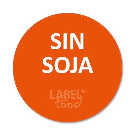 etiquetas impresas sin soja