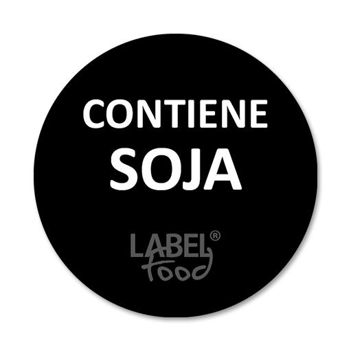 etiquetas impresas con soja