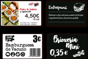 impresora tarjeta plastica - labelfood