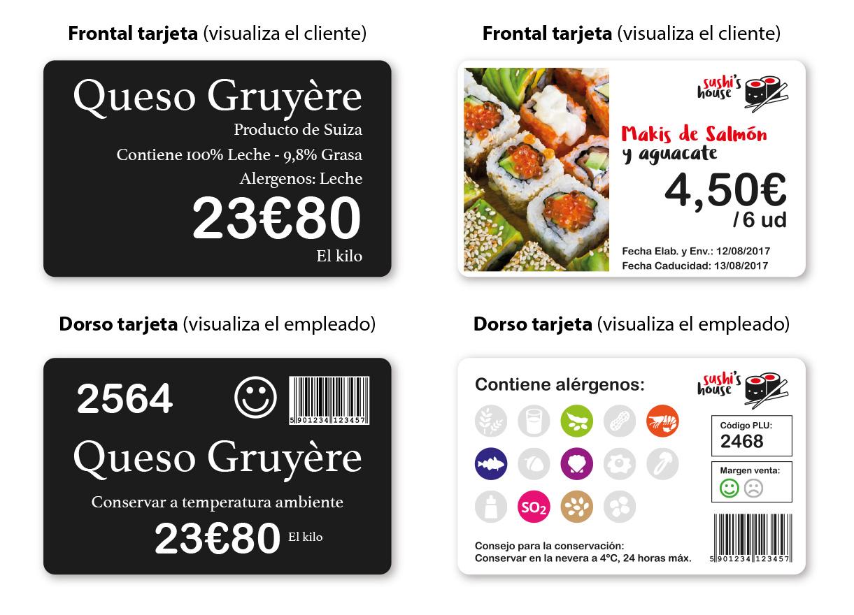impresora tarjeta plastica doble cara - labelfood