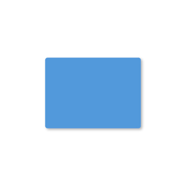 Etiqueta color 57 X 42 Térmico Protegido - Azul