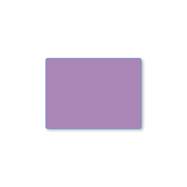 Etiqueta color 57 X 42 Térmico Protegido - Púrpura