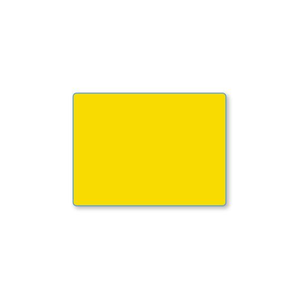Etiqueta color 57 X 42 Térmico Protegido - Amarilla
